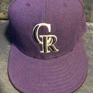 Colorado Rockies Authentic Hat 7 1/2